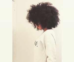 Afro, curly, and natural image