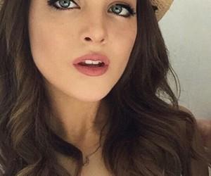 beautiful, blue eyes, and cowboy hat image