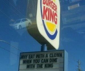 funny, burger king, and lol image