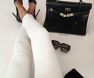 bag, luxury, and sunglasses image