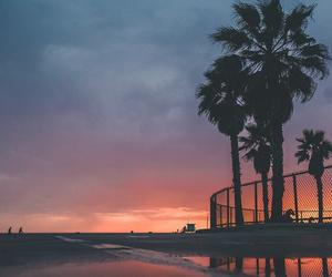 art, beach, and dark image