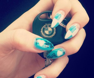 bmw and nails image
