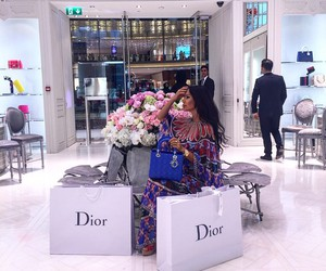 dior, shopping, and luxury image
