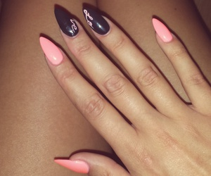 cosmetics, girl, and nails image