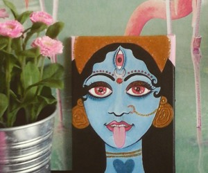 acrylic, art, and goddess image
