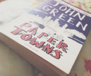 book, colours, and john green image