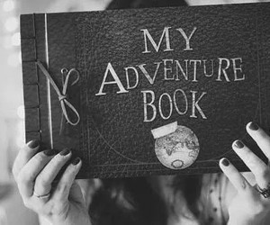 book, adventure, and up image