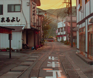 japan and street image
