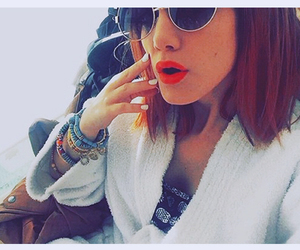 gafas, style, and girls image