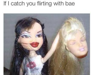 bae, funny, and barbie image