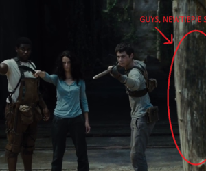 funny, the maze runner, and thomas brodie-sangster image