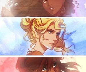 fandom, annabeth chase, and piper mclean image