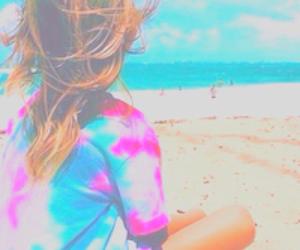 beach, pastel, and my edits image