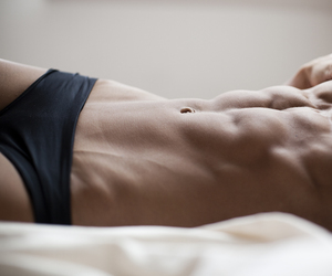 abs, breasts, and female image