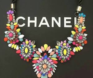 chanel, necklace, and style image