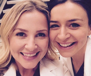 grey's anatomy and jessica capshaw image