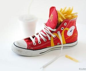 all star, batata frita, and converses image