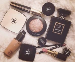 chanel, mac, and makeup image