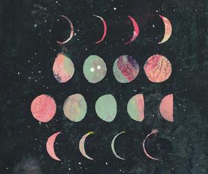 horoscope, moon, and cute image