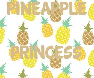 pineapple, princess, and hintergrund image
