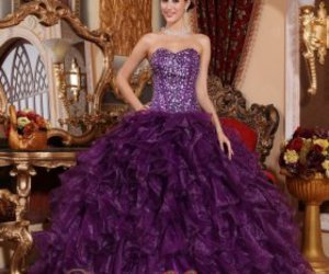 pretty, quinceanera dress, and ball gown image