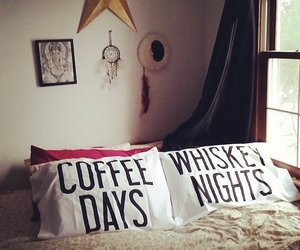 coffee, home, and whiskey image