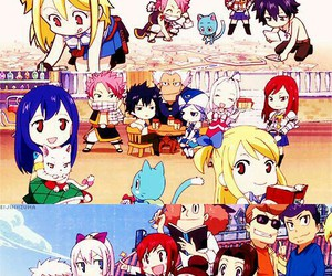 fairy tail, anime, and chibi image