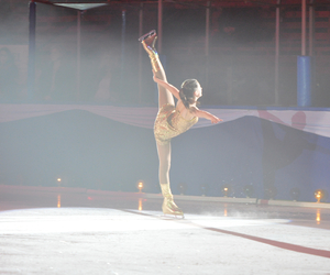figure skating, flexibility, and gold image