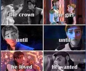 frozen, tangled, and disney image