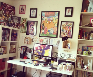 cool room, posters, and cute image