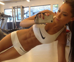 abs, fitness, and gym image