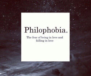 philophobia, love, and me image