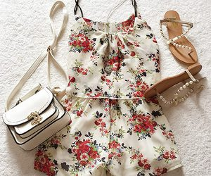 fashion, sandals, and bag image