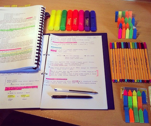 books, college, and colorful image