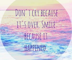 smile, quote, and cry image
