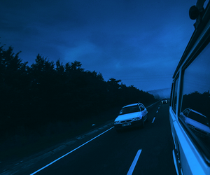 blue, car, and grunge image