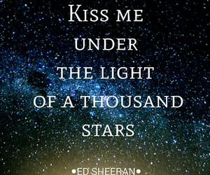 ed sheeran, thinking out loud, and kiss image