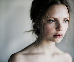 freckles, model, and marta syrko image