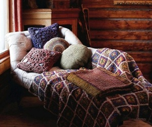 blanket, cold, and comfy image