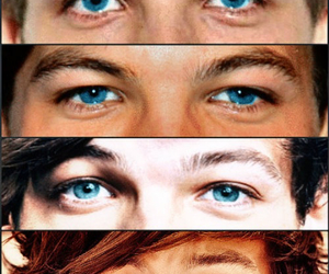 blue and louis tomlinson image