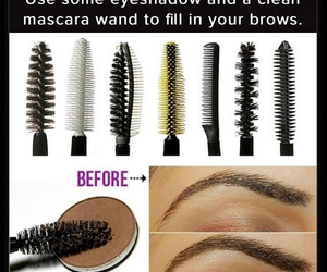 diy, mascara, and eyes image
