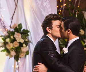 glee, klaine, and love image