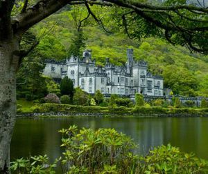 castle, green, and ireland image