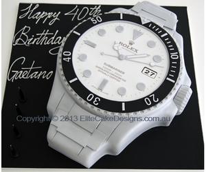 cake and rolex birthday cake image
