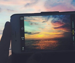 sunset, summer, and photography image