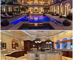 backyard, estate, and house image