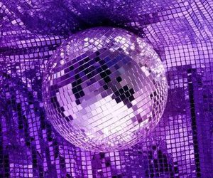 purple and disco image