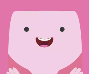 wallpaper, adventure time, and pink image
