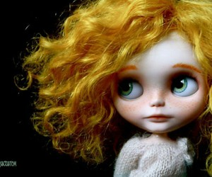 blond, blythe, and doll image