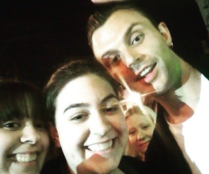 concert, hurts, and theo hutchcraft image